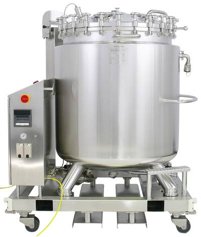 Delivery programme stainless steel vessels